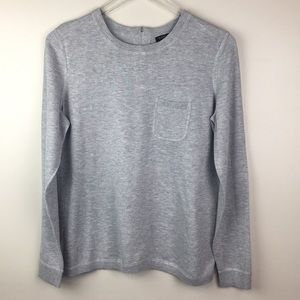 Heather gray sweater long sleeve. Size PM